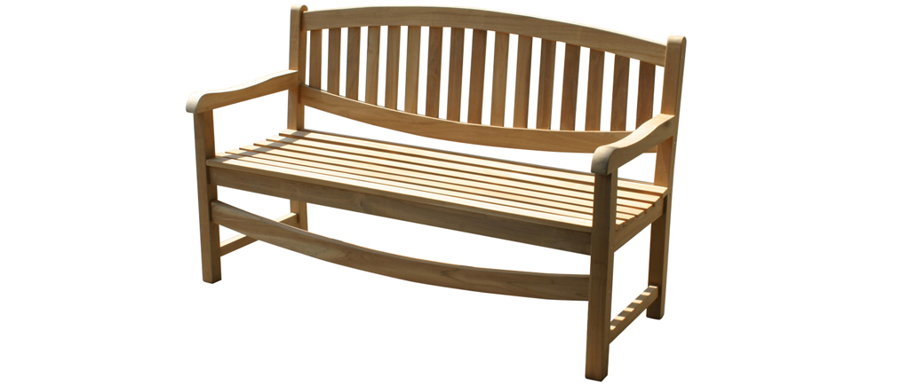 triple oval bench